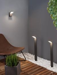 Градинско осветление за стена и земя