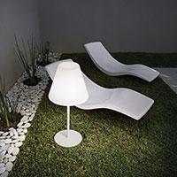 Настолна лампа за градината