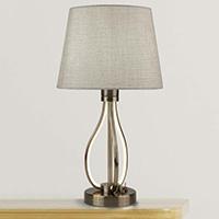 Нощна лампа с лед основа