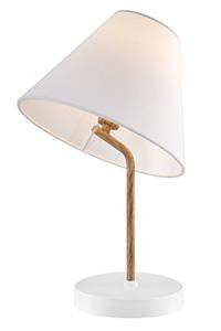 Модерна нощна лампа от дърво